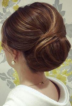 Classic Hairstyles, Bun Hairstyles, Vintage Hairstyles Tutorial, Hair Arrange, Wedding Hairstyles For Long Hair, About Hair, Hair Dos, Hair Designs, Short Hair Styles
