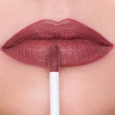 """Make an impact with the NYX Soft Matte Lip Cream in """"Rome""""! This sweetly scented…"""