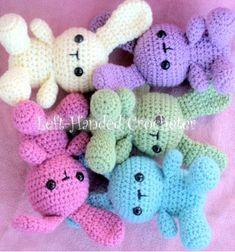 Easy & quick amigurumi bunny - free crochet pattern // Egyszerű amigurumi nyuszi - ingyenes horgolásminta // Mindy - craft tutorial collection // #crafts #DIY #craftTutorial #tutorial