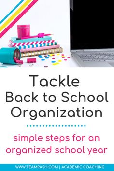 How can you help your disorganized child have an organized school year? Let's chat about the simple steps to an organized school year with trained school counselor turned academic coach, Marni Pasch on School Counselor Gone Rogue. Back To School Organization, Back To School Hacks, Classroom Organization, School Tips, Organization Hacks, School Ideas, School Schedule, School Planner, Coaching