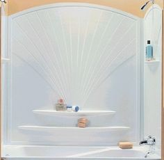 stirling tub shower surround | Tub Surround – Bathroom Fixtures – Compare Prices, Reviews and Buy
