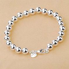 Korean Popular 925 Sterling Silver Beads Chain Bracelet Bangle-Silver International http://www.amazon.com/dp/B00HU53E38/ref=cm_sw_r_pi_dp_AjPUvb15RRNRB