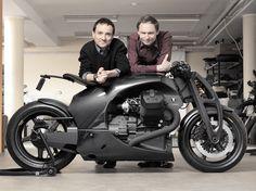 Carbon Fiber Motorcycle.