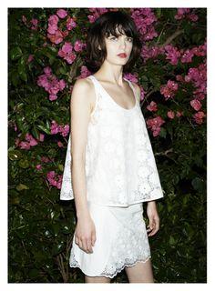See By Chloe Spring 2014 #Spring14 • skirt