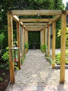 The pergola kits are the easiest and quickest way to build a garden pergola. There are lots of do it yourself pergola kits available to you so that anyone could easily put them together to construct a new structure at their backyard. Wisteria Pergola, Pergola Canopy, Pergola With Roof, Cheap Pergola, Wooden Pergola, Outdoor Pergola, Pergola Shade, Pergola Plans, Pergola Kits