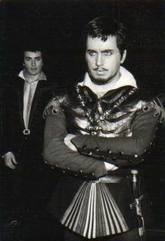 Franco Corelli and Ettore Bastianini Catherine Klein, Maria Callas, Opera Singers, Composers, Classical Music, Van Gogh, Knights, Highlights, Theatre