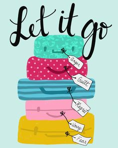 Let it all go. #quote #happiness #inspiration