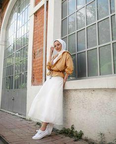 Modern Hijab Fashion, Muslim Women Fashion, Modesty Fashion, Korean Girl Fashion, Casual Hijab Outfit, Cute Casual Outfits, Hijab Chic, Modest Outfits, Broadway Outfit