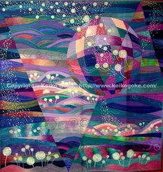 gorgeous quilt by Keiko Goke