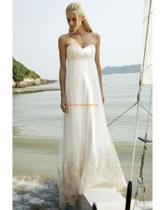 Augusta Jones 2013 Außergewöhnliche Lange Hochzeitskleider aus Softnetz