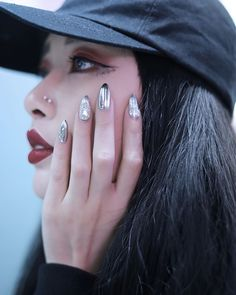 The most sparkly nails done by @luxenail  . Credits to @mart_yeung via BOLD SHOP HONG KONG OFFICIAL INSTAGRAM - Celebrity  Fashion  Haute Couture  Advertising  Culture  Beauty  Editorial Photography  Magazine Covers  Supermodels  Runway Models