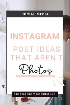 You can make a successful Instagram account by using mediums other than photos. Check out these top post examples to get your Instagram feed top notch! EGM Consultant - Blogger, WordPress Expert, Web Designer, Techy Girl. I work with family focused entrepreneurs who run a business from home who struggle with keeping up with new digital marketing strategies #onlinebusiness #egmconsultant #socialmedia #instagram #instagramtips Instagram Cheat, Instagram Marketing Tips, Instagram Feed, Instagram Story, Instagram Posts, Digital Marketing Strategy, Marketing Strategies, Content Marketing, Social Media Marketing