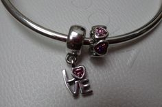 Pandora Valentine's Day 2014 LOVE and HEART charms - aren't they adorable? :-)