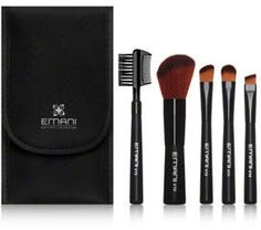 Check out exclusive offers on EMANI Vegan Travel Brush Set at Dermstore. Order now and get free samples. Shipping is free! Contour Brush, Concealer Brush, Brow Brush, Makeup Case, Makeup Brush Set, Organic Vegan Makeup Brands, Beauty Without Cruelty, Travel Brushes, Beauty Kit
