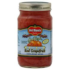 DEL MONTE FRESH FRUIT REFRIGERATED JARRED RED GRAPEFRUIT NO SUGAR ADDED 19.5 OZ PACK OF 3 * Hurry! Check out this great sales : Baking Desserts recipes