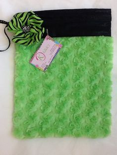 Green Cotton Candy Grip Bag by jnknox1 on Etsy, $22.00