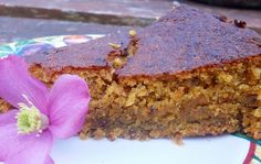 """Unusually for carrot cake, this has a smooth texture with no """"bits"""". I am not a fan of adapting egg cake recipes; Egg Cake, Carrot Cake, Meatloaf, Banana Bread, Carrots, Cake Recipes, Vegetarian, Vegan, Desserts"""