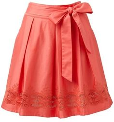 Color Coral - Coral !!! Skirt