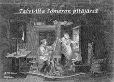 R.W. Ekman En vinterkväll i Somero socken