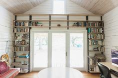 """interior of cabin lovely and simple great for """"thinking & writing"""" I'll fight for my right to write and don't care to hear anymore negatives from haters about my passion!"""