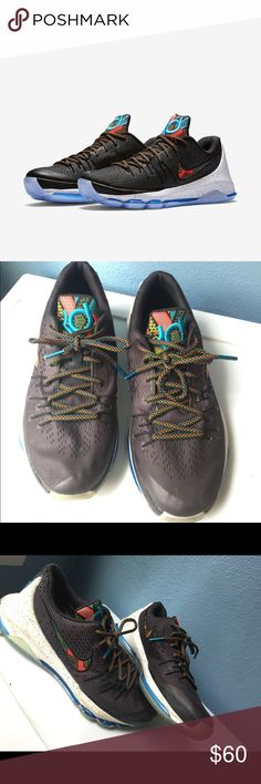 size 40 edfd0 16c31 KD s 8 BHM Cute comfortable BHM KD They have been worn but are still in  good condition. Make good for some basketball shoes or casual shoes just to  wear.