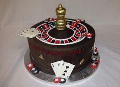 Roulette Wheel Cake!