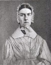 "Angelina Grimke, & her sister Sarah, eloquently fought the injustices of slavery, racism & sexism during the mid-1800s. They were the 1st women to speak publicly against slavery.In 1838, Angelina became the 1st woman to address a legislative body when she spoke to the MA State Leg. on women's rights & abolition. Sarah compared the restrictions on women & slaves, writing: ""woman has no political existence... She is only counted like the slaves of the south, to swell the number of lawmakers."""