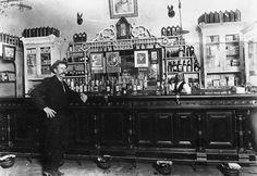 saloon interior | Napoleon Hart's Saloon, Interior View, Anaheim [graphic]