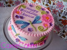 Image result for edible dragonfly cake decorations