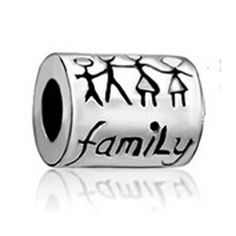 FAMILY beads fit Pandora charm bracelet hand jewelry accessories Christmas gift