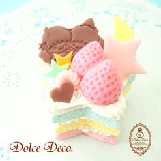 【2014】★Workshop ★ #SanrioLicenseJapan #DolceDeco ★ #LittleTwinStars