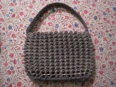 Ravelry: Project Gallery for Pop Tab Purse Tutorial pattern by Mylinda Agler