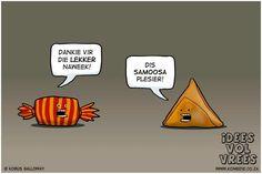 Afrikaanse grappe Humor Idees vol vrees