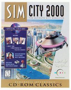 SIM CITY 2000 +1Clk Windows 10 8 7 Vista XP Install