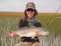 Trout Unlimited Offering free Memberships to women  Chrissy's Redfish by OrvisNews.com, via Flickr