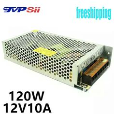 Input AC110V-240V Output DC12V 10A 120W switching power supply adapter in CCTV accessories and for LED Strip light