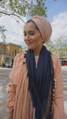 DINA TORKIA Hijab Turban Style, Mode Turban, Hijab Outfit, Hijab Bride, Pakistani Wedding Dresses, Wedding Hijab, Muslim Fashion, Modest Fashion, Hijab Fashion