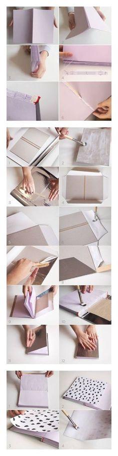 Cuaderno de notas DIY - idearioblog.stfi.re - DIY Note Book