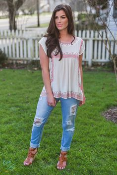 I like the idea of this top.. Maybe a different color?