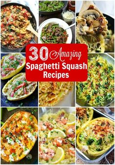 Any of these amazing spaghetti squash recipes would be perfect for healthier, low-carb alternative to any pasta dish.
