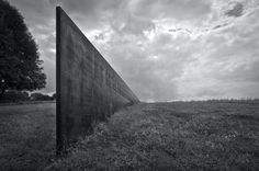 Schunnemunk Fork by Richard Serra, 1990-91. Photograph by Ken McCown, used under a Creative Commons License, from the Richard Serra Flickr Pool.