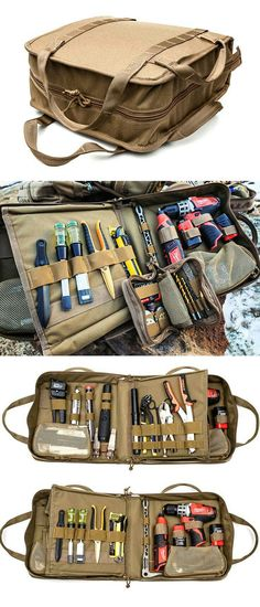 Used as a standalone kit or as part of the Line EOD Tool Kit, the Manual Access EOD Tool Kit is outfitted with the tools necessary to stabilize devices Camping Tools, Camping Equipment, Camping Gear, Outdoor Camping, Edc Tools, Survival Tools, Tool Roll, Tac Gear, Bug Out Bag