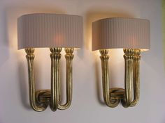 1stdibs | Pair of Wall Lamps Austrian Art Deco