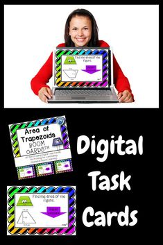 Boom Cards: Digital Task Cards are great alternatives to those printed, laminated task cards. Infuse your class with technology.  Students love these cards so much, they ask to use at home.  Use in math centers, as individual learning or assign for additi