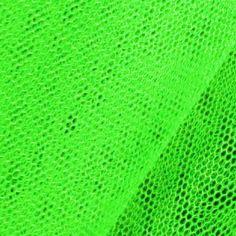 Voll im Trend: #neongrüner Tüllstoff für ausgefallene Nähideen