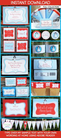 Wizard of Oz Party Printables, Invitations & Decorations