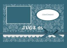 """Just Us Girls"" Challenge: JUGS 45 Sketch"