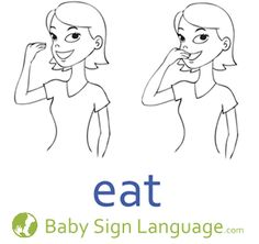"""15 Easy Signs to Teach Baby"" - Baby sign truly is a life saver. And these signs are certainly good ones to start with!"