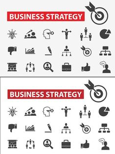 This set contains 30 business strategy icons. Type Design, Icon Design, Graphic Design, Bm Logo, Social Web, Best Icons, Icon Collection, Business Icon, Cv Template