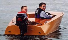 Squirt by McMillan Wooden Boat Building, Wooden Boat Plans, Cool Boats, Small Boats, Glen L, Kids Boat, Boat Pics, Wooden Speed Boats, Classic Wooden Boats